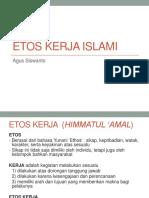 Etos Kerja Islami 2015