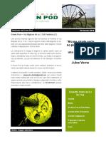 GreenPod Notiziario 10 Gennaio 2016