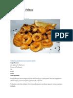 Receta Chipirones Fritos