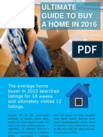 Ultimate Guide to Buy a Home in 2016