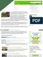 Campañas Agricultura Sustentable