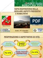 Claudio Gatta - Telethon 2007 - La Fisioterapia Respiratoria Nella Distrofia Muscolare