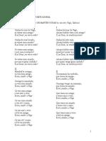 TEXTOS LÍRICA GALAICO Portuguesa Cantigas