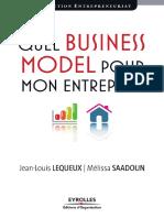 Quel Business Model Pour Mon Entreprise Ed1 v1