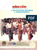 Introducción a las ciencias sociales y humanidaes