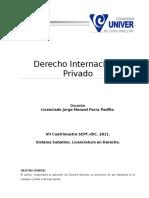 Antología Derecho Internacional Privado