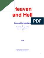 Heaven and Hell - Swedenborg