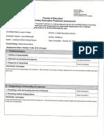formative practicum assessment
