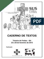 III SEVI - Caderno de Textos