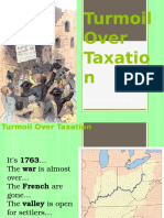 turmoil over taxation