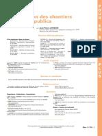 Organisation Des Chantiers de Travaux Publics - TIPesp-c112