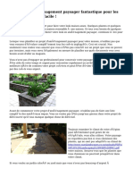 Conseils en aménagement paysager fantastique pour les projets de maison facile !