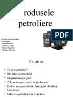 Produsele petroliere