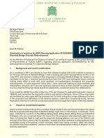 Greg Hands MP's Submission in response to the Stamford Bridge Grounds Redevelopment