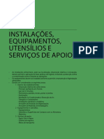 1.3 Instalacoes Equipamentos Utensilios e Servicos de Apoio