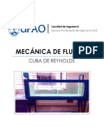Lab 01 - Cuba de Reynolds - UPAO - FLUIDOS