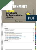 Open Government. 10 Ideas Para Hacer Tu Ayuntamiento Abierto