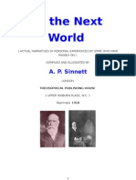 In the Next World - AP Sinnett