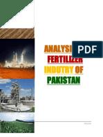 Analysis of Fertilizer Industry of Pakistan