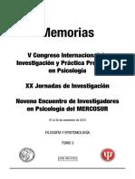 _rea Filosofía y Epistemología - Trabajos Libres y Pósters