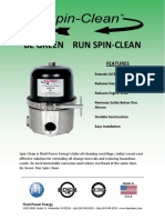 Spin Clean Brochure