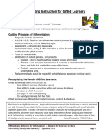 differentiating for gifted learners final