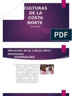 Culturas Costa Norte -ecuador-