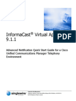 InformaCast Advanced Notification - Quick Start Guide for CUCM