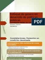 ENFOQUE DE GENERO EN POLITICAS PUBLICAS