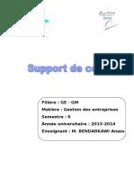 Support de Cours-Gestion Des Entreprises