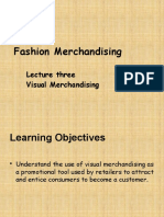 Lecture 2 Visual Merchandising 2012