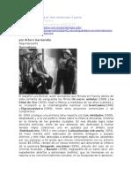 Las Vanguardias y El Cine Mexicano 2 Parte. Arturo Gamendia