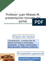 Tipos de Textos, formales e informales