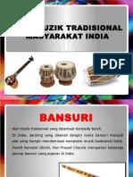Alat Muzik Tradisional Masyarakat India