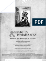 Muskets and Tomahawks Rulebook
