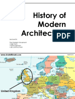 History of Morden Architecture