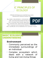 1. Basic Principles of Ecologyslides
