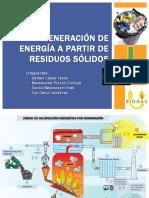 Generación de Energía a Partir de Residuos Sólidos
