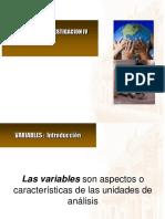 5. Clase 4B Las Operacionalizacion de Variables