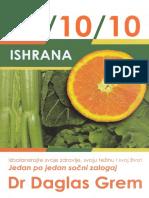Dr Daglas Grem - Ishrana 80 10 10
