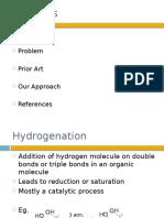 Hydrogenation of Oils
