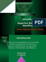 2.-Aspectos Ambientales Sig. Area Op. Mina