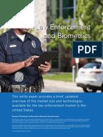Biometrics and Law Enforcement