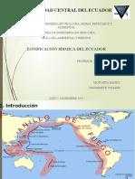 Zonificacion Sismica Del Ecuador