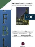 Industrial Management report