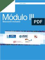 MODULO 3 Atención Necesidades Educativas Especiales