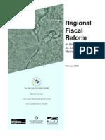 St. Louis Regional Fiscal Reform_Metropolitan Forum Report