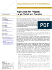 High Speed Rail Projects. Fitch