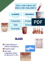 9.5 Glasses & Ceramics
