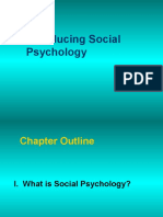 Chapter 12 - Social Psychology